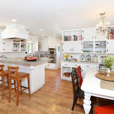 Farmhouse Kitchen by V.I.Photography & Design