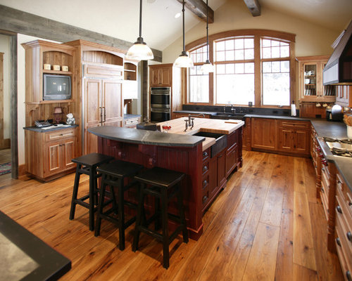 25 rustic kitchen design ideas  remodel pictures with