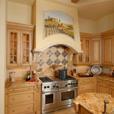 Mediterranean Kitchen by Veranda Homes