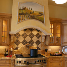 Mediterranean Kitchen by Veranda Homes