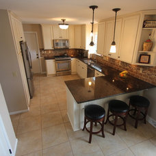 Traditional Kitchen by West Construction LLC