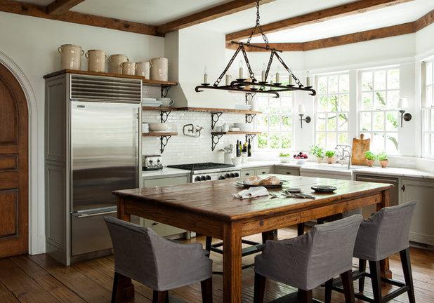 Farmhouse Kitchen by Westbrook Interiors