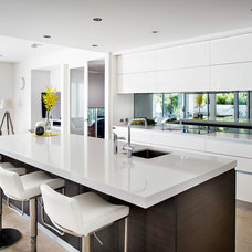 Contemporary Kitchen by Western Cabinets