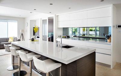 10 bonnes raisons d'intégrer un miroir dans sa cuisine