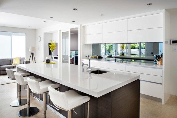 10 bonnes raisons d 39 int grer un miroir dans une cuisine for Credence en miroir