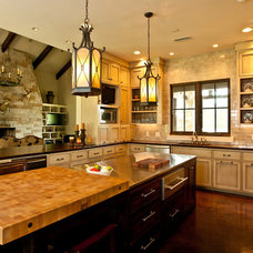Contemporary Kitchen by Woodham's Cabinet Shop, Inc.
