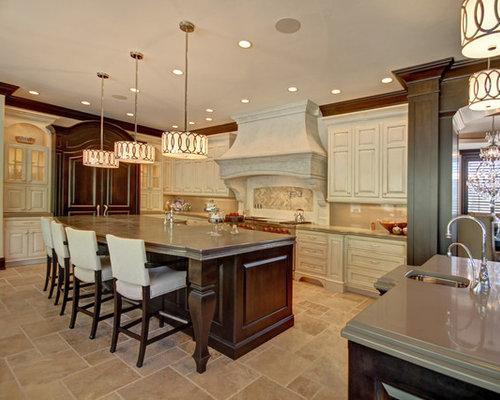 Traditional Off White Kitchen off white kitchen cabinets | houzz