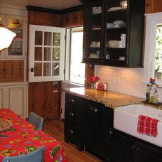 Eclectic Kitchen by Kitt Haman Design