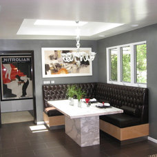 Contemporary Kitchen by Kitty Curcio