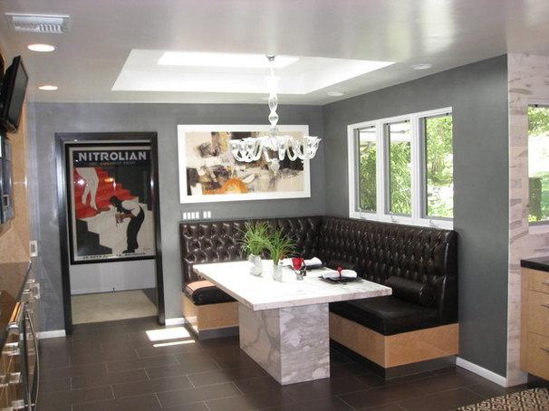 Contemporary Kitchen by Kitty Curcio