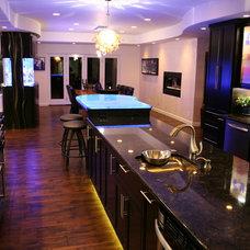 Transitional Kitchen by Inland Bath & Kitchen, Inc.