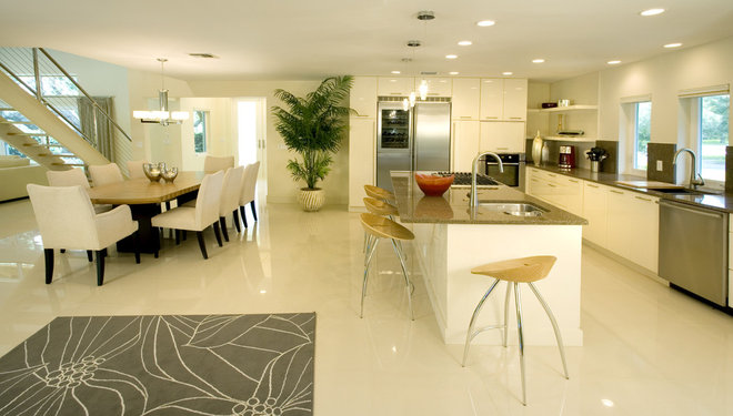 Contemporary Kitchen by Design Elite Tampa Bay