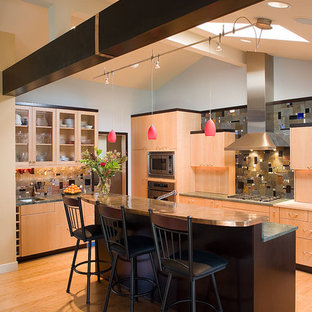 Beech Wood Cabinets Houzz