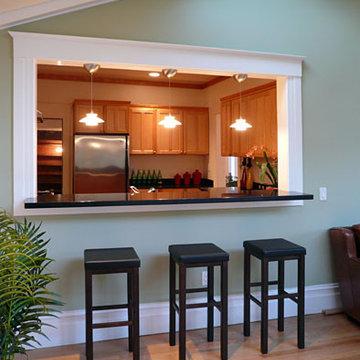Klopf Architecture - Kitchen from Sun Room