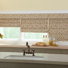 Eclectic Kitchen by Lone Star Blinds