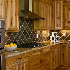 Eclectic Kitchen by Blue Sky Building Company