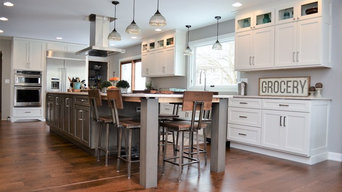 Knox Indiana, Haas Signature Maple Cabinetry, Modern Farmhouse Inspired