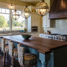 Transitional Kitchen by LO Interiors