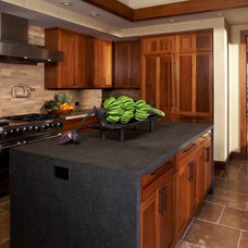 Tropical Kitchen by Knudson Interiors