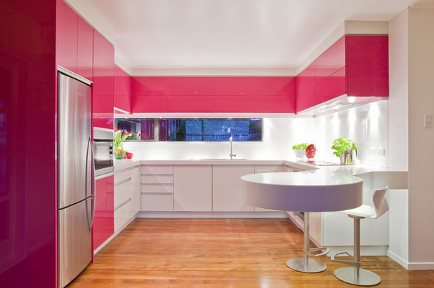 Pinke küche  Awesome Küche In Pink Images - New Home Design 2018 ...