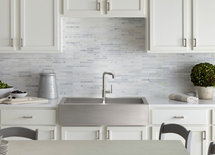 Has anyone found out what the backsplash is and who it is made by?