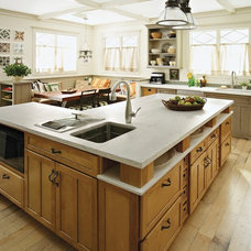 Farmhouse Kitchen by Expressions Kitchen & Bath Showroom