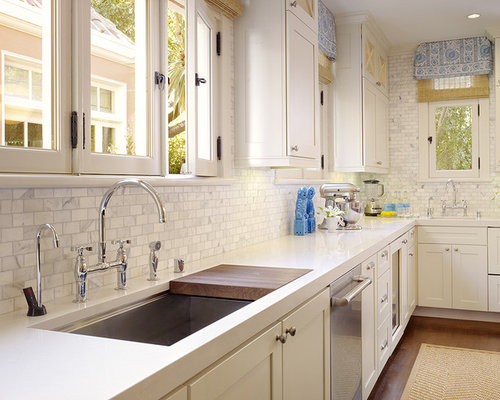 cutting board in sink ideas, pictures, remodel and decor, Kitchen design