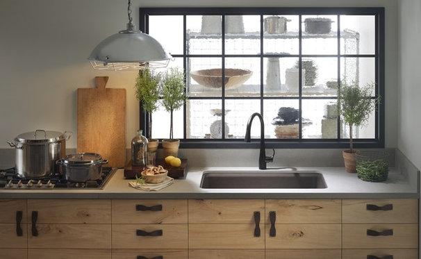 Eclectic Kitchen by Kohler