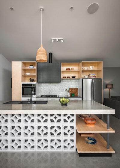 コンテンポラリー キッチン by sw-architects