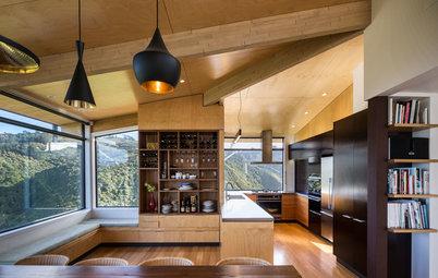 Houzz Tour: A Contemporary Hillside Home With Dramatic Views