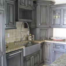 Eclectic Kitchen by CustomBuilt-ins.com / CFM Company Inc.