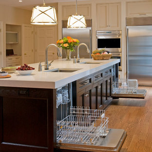 Sink And Dishwasher In Island Ideas