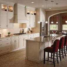 Transitional Kitchen by Lowe's of Silverdale, WA