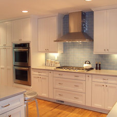 Contemporary Kitchen by Lonny at K and B