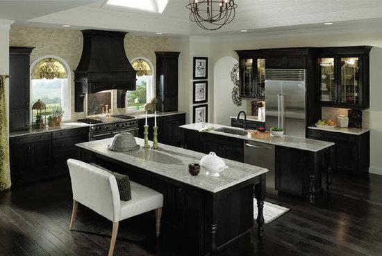 KraftMaid Kitchen U0026 Bathroom Cabinets Gallery   Kitchen Cabinet Kings