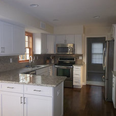 Traditional Kitchen by Lowes of Morgantown, PA