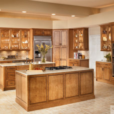 Transitional Kitchen by KraftMaid