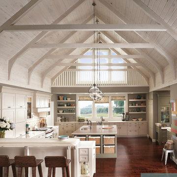 KraftMaid: Modern Farmhouse Kitchen