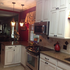 Traditional Kitchen by Lowe's of Salisbury, NC