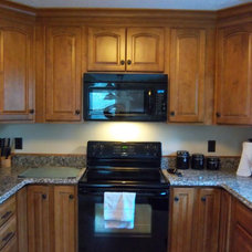 Traditional Kitchen by Lowe's of Auburn, ME