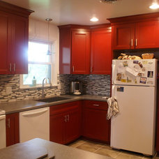 Contemporary Kitchen by Lowe's of West Lancaster, PA