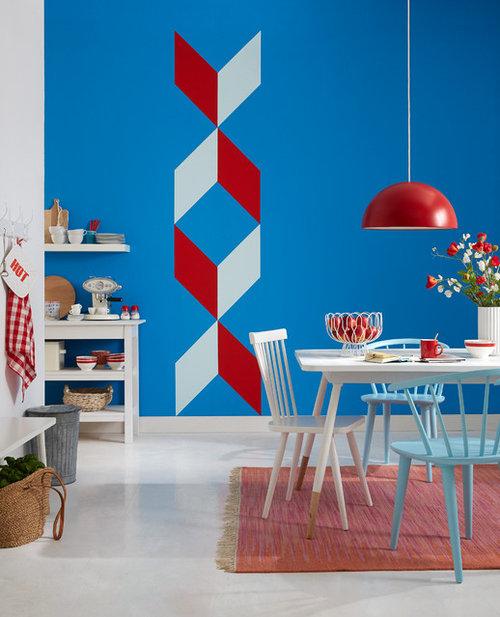 Fantastisch Kreative Wandgestaltung Mit Tesa Malerband · Mehr Info