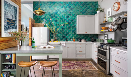 New This Week: 3 Fabulously Eclectic Kitchens
