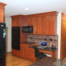 Traditional Kitchen by Excel Interior Concepts & Construction