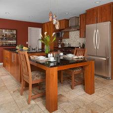 Contemporary Kitchen by KSI Kitchen & Bath