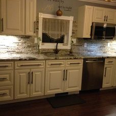 Traditional Kitchen by Natural Valley Recycled Granite