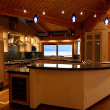 Traditional Kitchen by Fisher Construction LLc