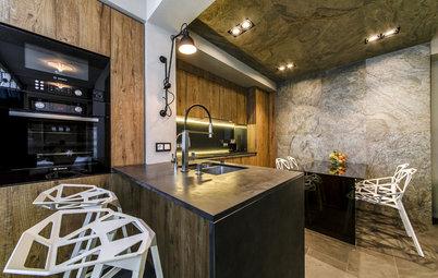 Проект недели: Мечта техномана — Кухня 16 квадратов с умным столом