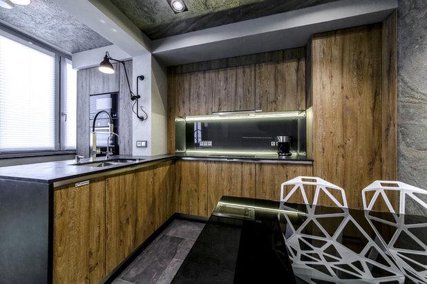 Современный Кухня by Михаил Новинский (MNdesign)