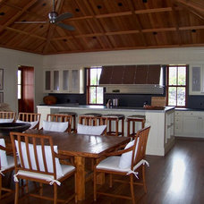 Contemporary Kitchen by Roy Lambrecht Woodworking, Inc.